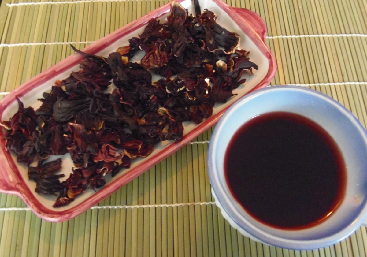 Agua de Jamaica or Hibiscus Tea | Nina Torres